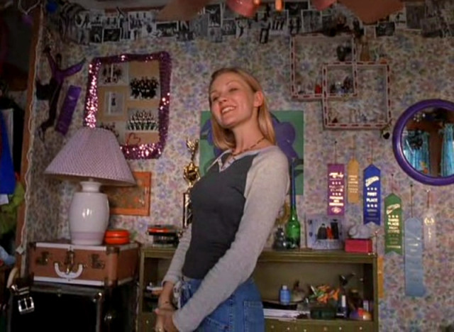 Earnest overachiever and best damn tapper Amber Atkins' room in Drop Dead Gorgeous.
