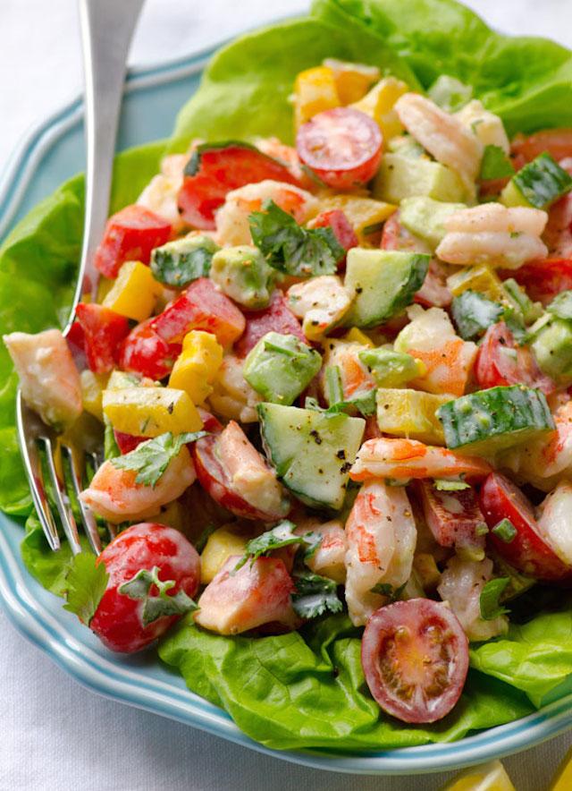 closeup-creamy-shrimp-salad-recipe