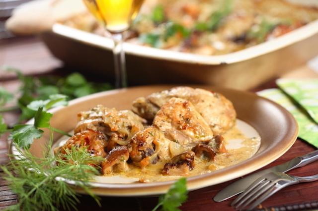creamy chicken mushroom