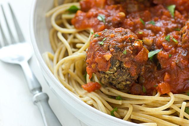 43. Lentil Mushroom Meatballs