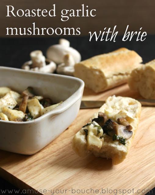roasted-garlic-mushrooms-brie