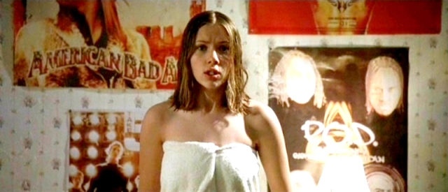 What movie is this, where Scarlett Johansson is supposedly a fan of P.O.D. and Kid Rock?!
