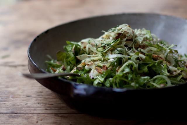 Shaved Fennel Salad Recipe — Dishmaps
