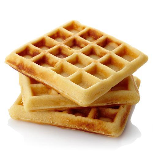 Fine. It's gonna' be a Waffle.  (image via Shutterstock