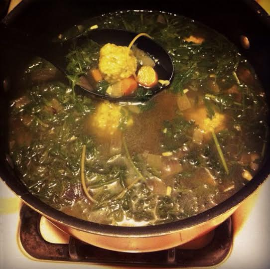 I made this soup once, it was pretty good.