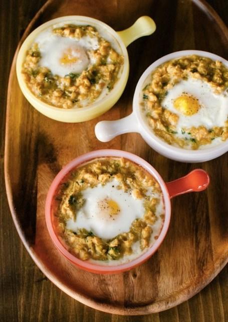 spiced-lentils-baked-egg