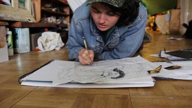 Vanessa Adams, New Orleans, LA working on Temperance
