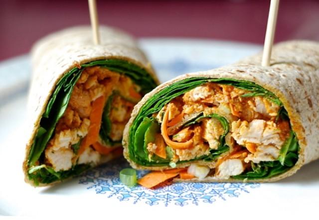 Great-Edibles-Recipes-Spicy-Peanut-Chicken-Wrap-Weedist-640x442