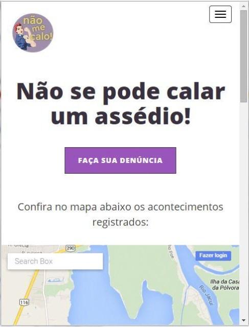 Nao Me Calo Homepage
