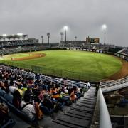 Taiwan-Internatinal-Baseball-Stadium-Far-Right-Field-Fisheye-Opening-Day-Taoyaun-Lamigo-Monkeys-vs-Taipei-7-Eleven-Lions-2013-03-23