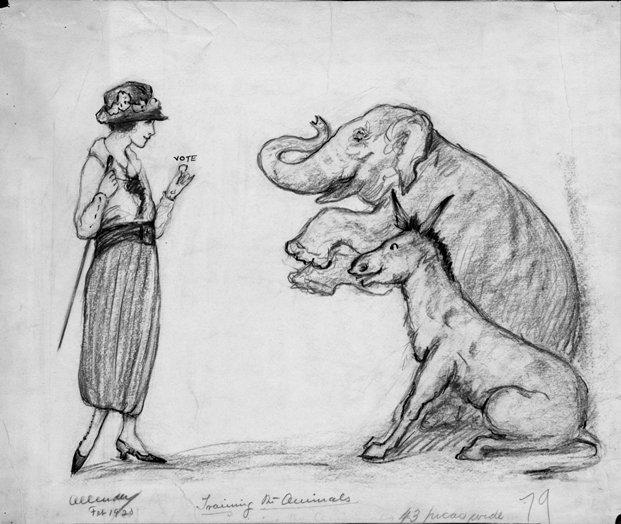 """Training The Animals,"" 1920"
