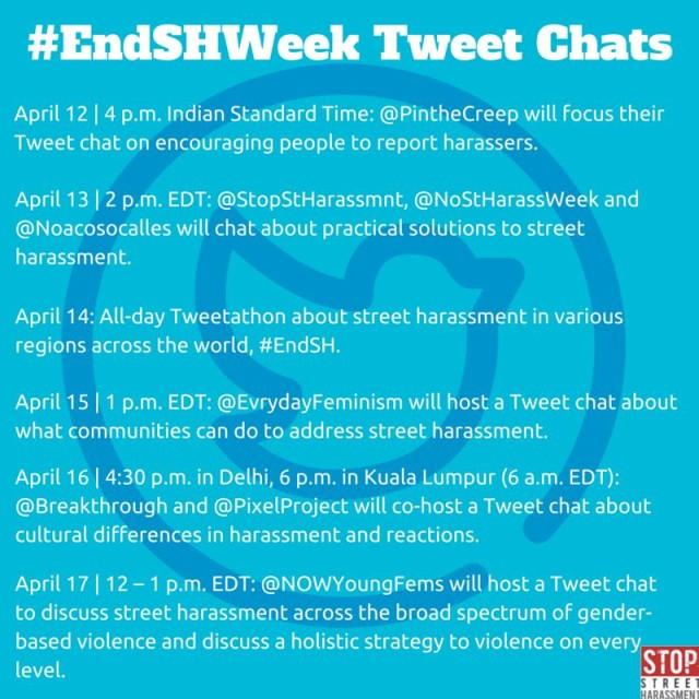 end sh week tweets