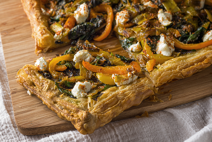 Flaky Vegetable Tart Weed Edible Picture