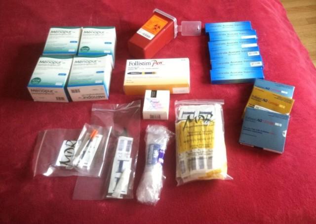Simone's medications