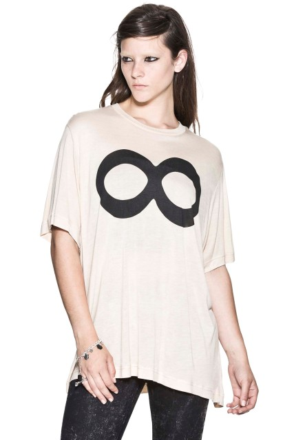 %Cheap Monday Infinity Tee