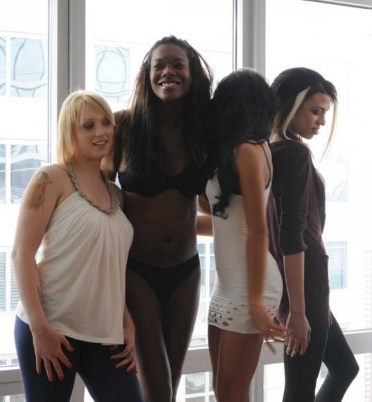 Chrysalis models via the lingerie addict