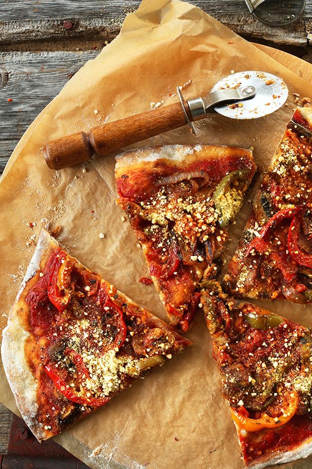 FAVORITE VEGAN PIZZA