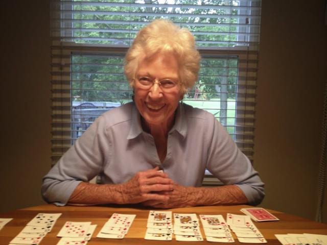 Laura's Grandma Jeanne.