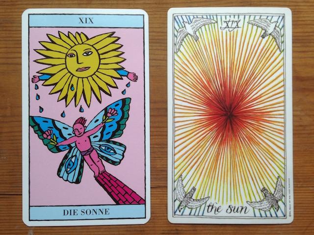 The Kitty Kahane Tarot and The Wild Unknown Tarot