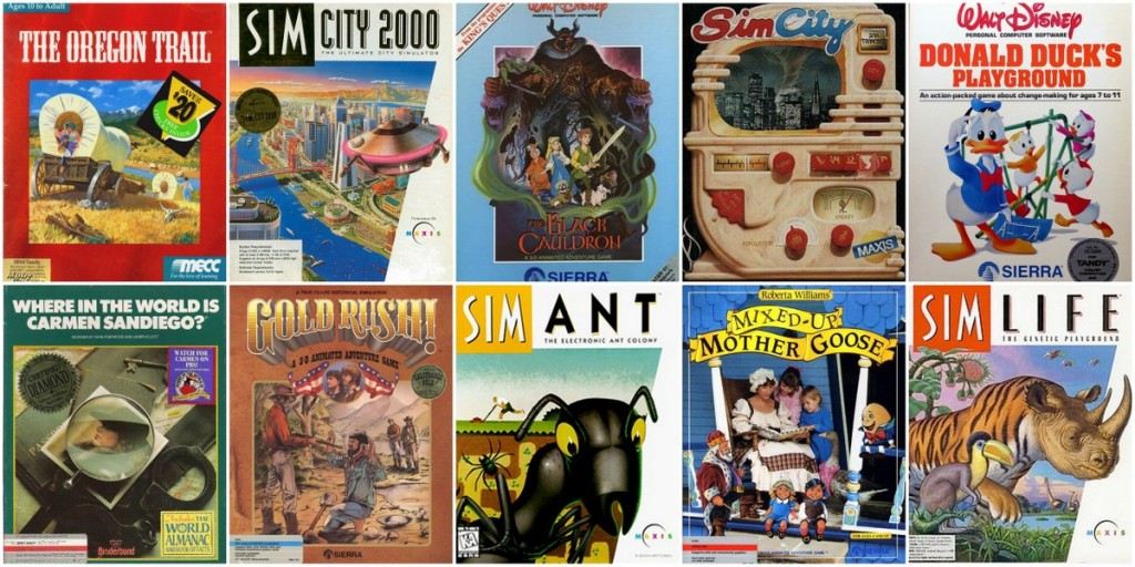 Sunday Top Ten: Raddest Computer Games I Played In The ...