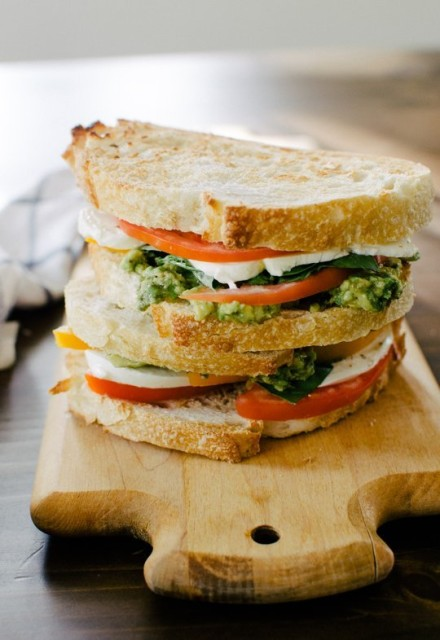 70. Mozzacado Sandwich