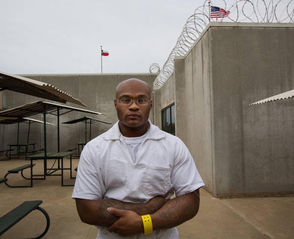 Passion Star has spent more than 12 years in Texas prisons. Photo by Ruth Fremson of The New York Times