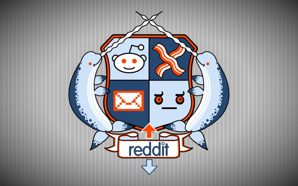 A user-generated Reddit coat of arms