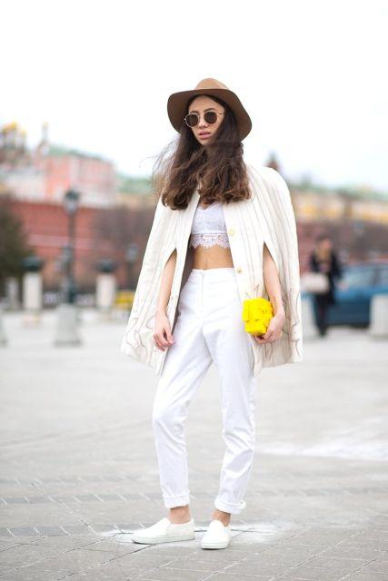 Street Style from Harper's Bazzaar via Pinterest