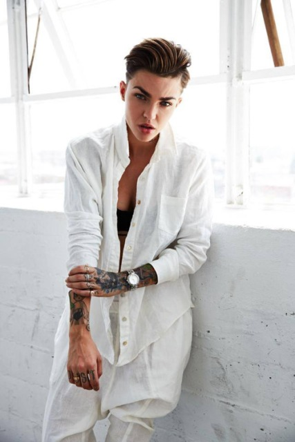 Ruby Rose from Dapper Tomboy