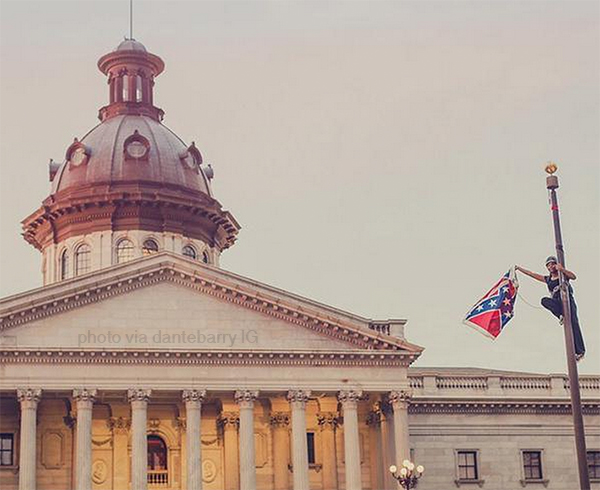 Bree-Newsome-flag