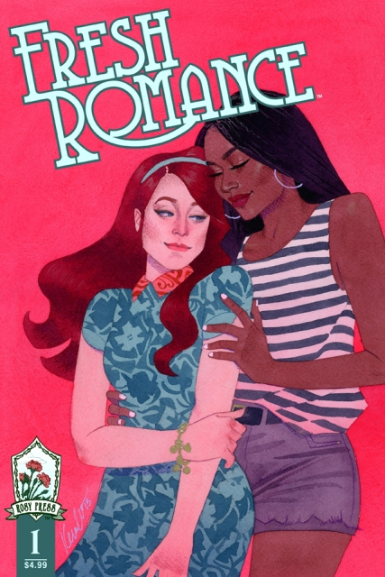 Fresh Romance #1 cover by Kevin Wada.