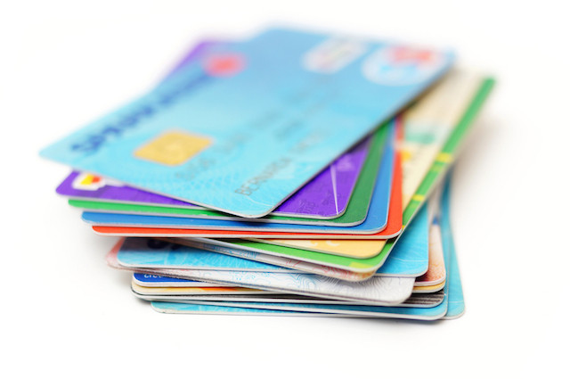 This is my real life. I have 13 revolving credit accounts right now. Wee! But I've learned a lot in the process! (via Shutterstock)