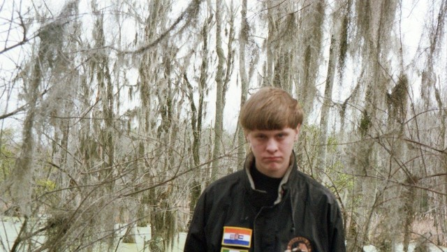 Dylann Storm Roof, from his Facebook