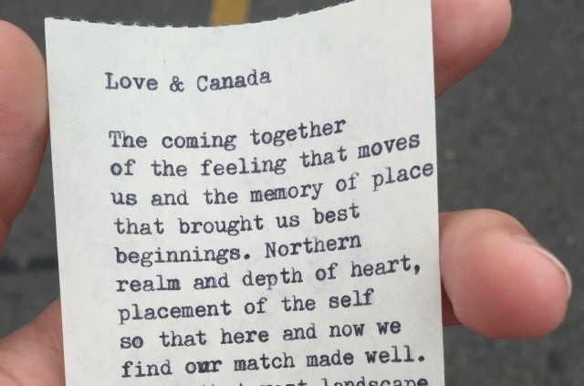"""Love & Canada"" by Jacqueline Suskin"