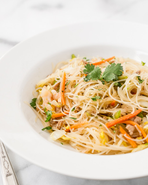 Pancit Bihon Recipe (Filipino Fried Rice Noodles) Recipe