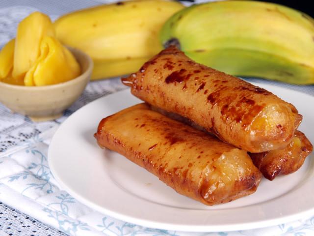 how to make banana turon