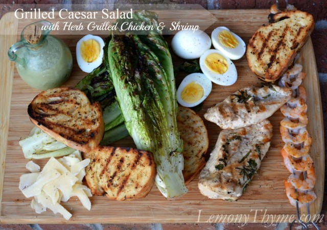 Grilled-Caesar-Salad-with-Herb-Grilled-Chicken-Shrimp-from-Lemony-Thyme-1024x721
