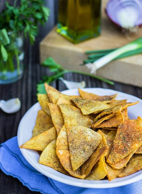 homemade-cool-ranch-doritos-vegan-gluten-free