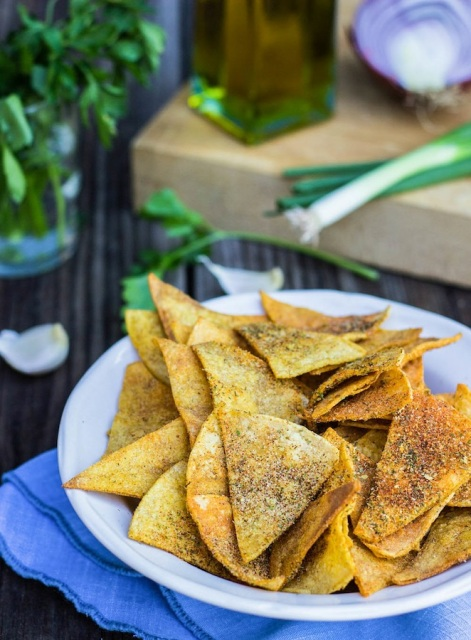 homemade-cool-ranch-doritos-vegan-gluten-free