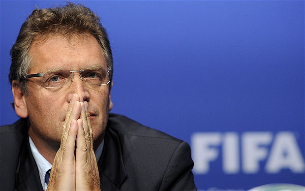 FIFA Official Jerome Valcke