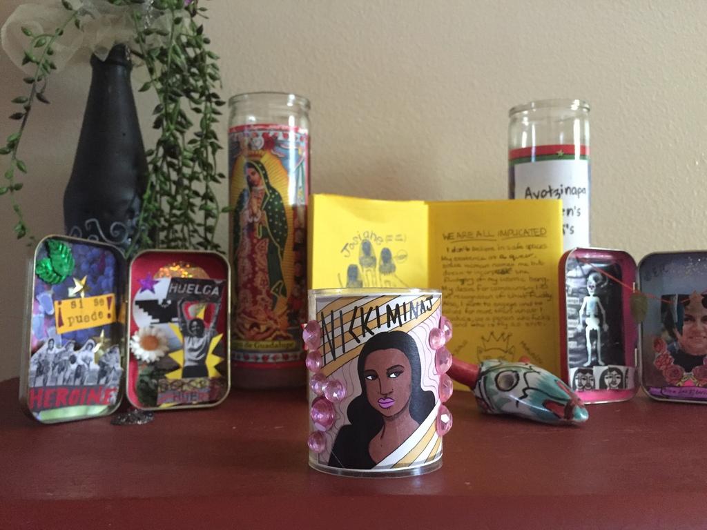 Nicki Minaj candle artwork by Rory Midhani.