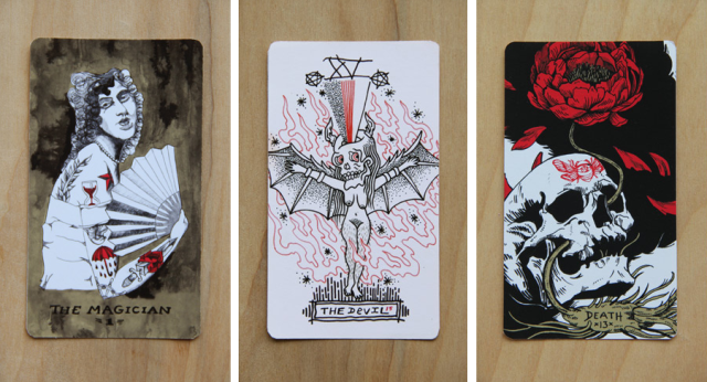 Tarot deck lesbian erotic
