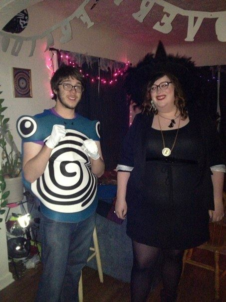 Pete and I on Halloween a few years ago