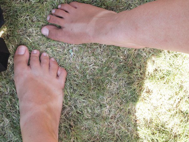 Very proud of our sandle tans at Austin City Limits 2010.