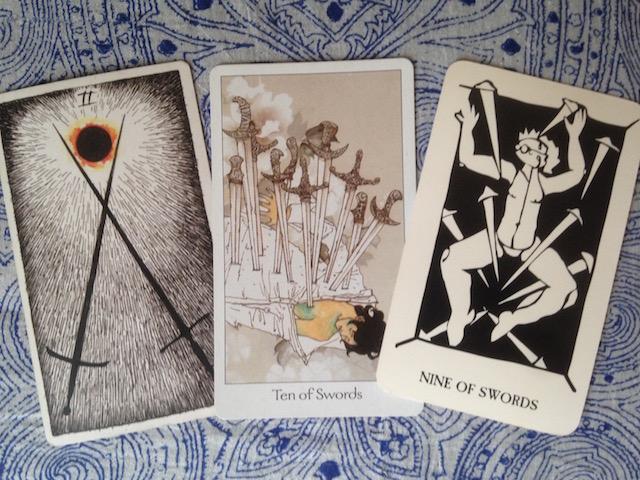 swords tarot cards