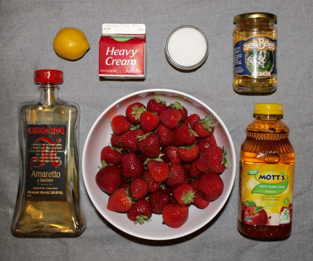 strawberry soup ingredients