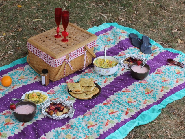 picnic lunch for menu with galadriel