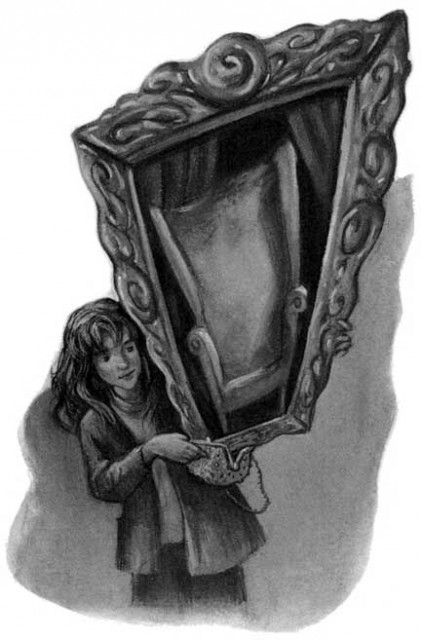 Truly the brightest witch of her age. Art by Mary Grandpre.
