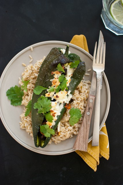 beer-bean-stuffed-poblano-peppers