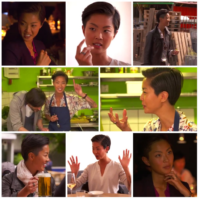 Just some screengrabs of Kish talking about food in Berlin. It gets intense.